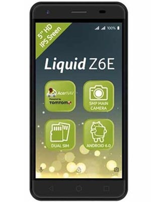 Liquid Z6E 8GB with 1GB Ram