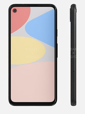 Pixel 4a 128GB with 4GB  Ram